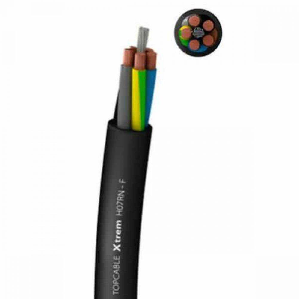 Flexible Rubber Power Cable